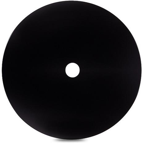 Disco Concavo Metálico Negro Ø40Cm (Portalámparas No Incluido) [AM-CA502] (AM-CA502)