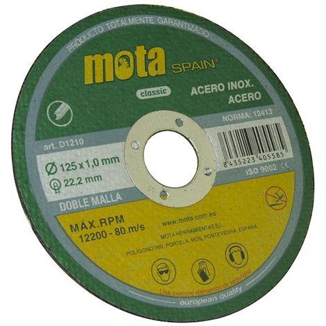 Disco corte a inox 180x2.5x22.23mm d1825