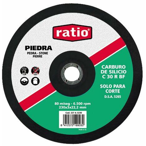 DISCO CORTE C.SILICIO 180X3X22RATIO