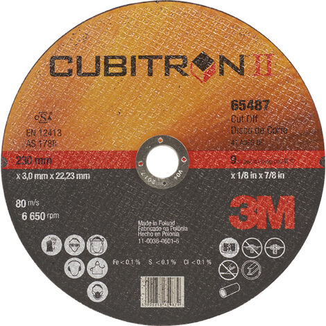 DISCO CORTE CUBITRON A/I65456 180X1,6X22