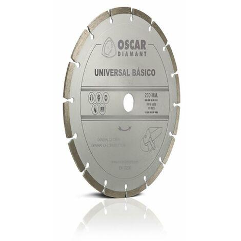 Disco Corte General Obra 230 Mm Oscar Diamant Segme/B-230