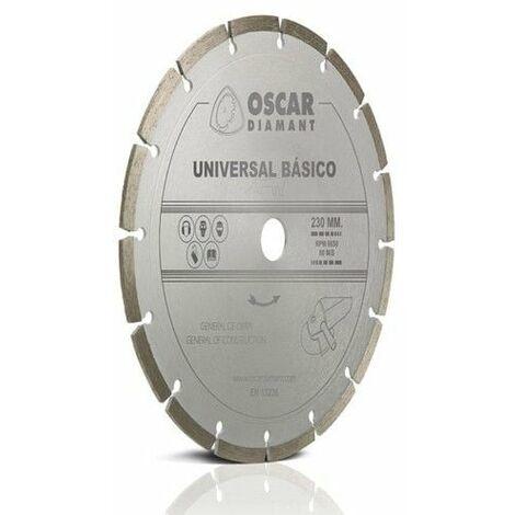 Disco Corte G.obra 230 Mm Diam Basico Oscar Diamant