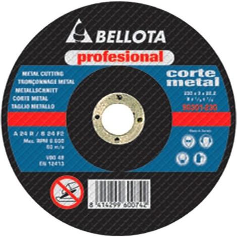 "main image of ""Disco Corte Metal 125X3X22 Mm Bellota"""