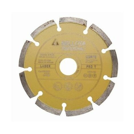 Disco Corte Laser 230 Mm Diamante Basico Bellota