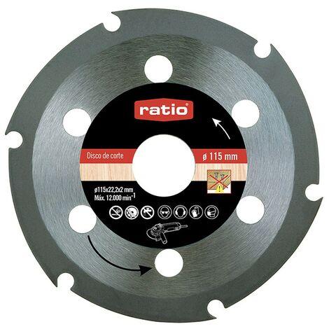Disco Corte Madera 115 x 2,0 x 22,2 Ratio