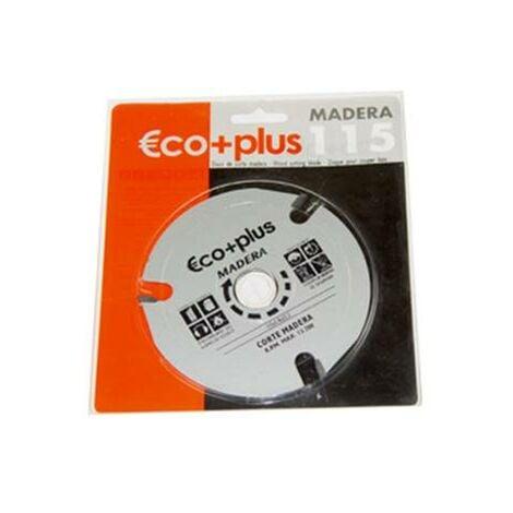 Disco Corte Madera Eco+Plus 115x3, 8x22mm.