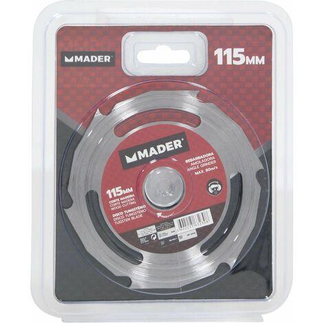 Disco Corte Madera para Amoladora - MPT - 115MM