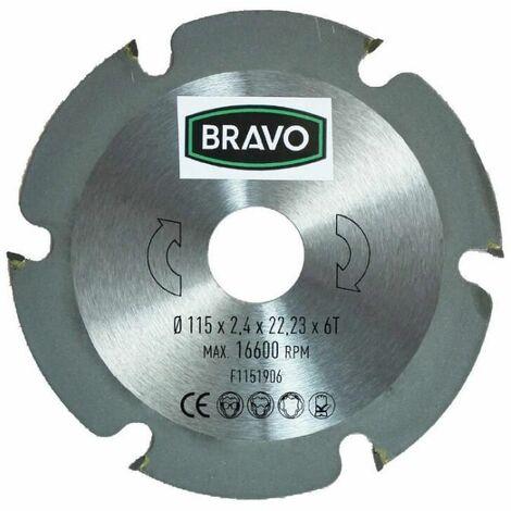 Disco corte madera ÿ 230 BRAVO