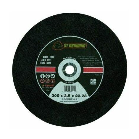 Disco Corte Metal Estacionario 300X3,5X22 Mm Grinding