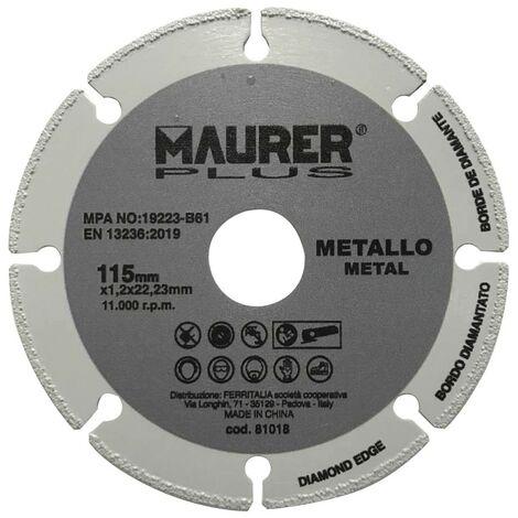 "main image of ""Disco corte metales universal Ø 115 x 1,2 mm."""