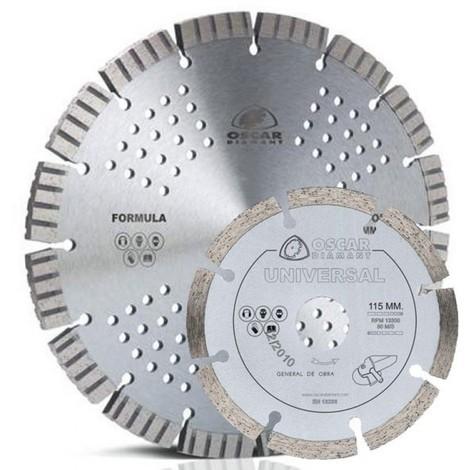 Disco corte multimat 230 mm-115 mm diam grinding 2 pz