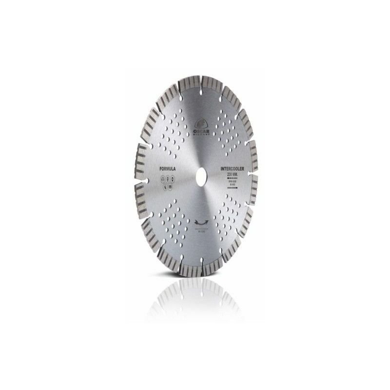 Di/ámetro 230 x 30//22.2//25.4 mm Disco Diamante Borde Continuo para Azulejos Altura de segmento 5 mm Leman 68230