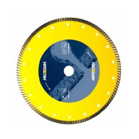 Disco Corte Porcelan. B/cont 230x1,8x8mm Turbo Diam Macodiam