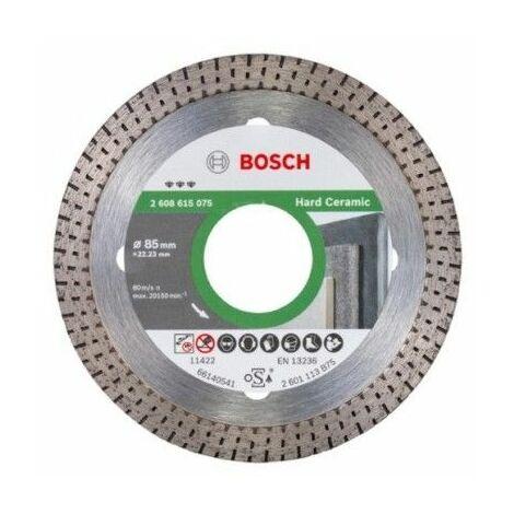 Disco Corte Porcelanico B/Cont 85MM 115/125Mm H7 Diam Bosch