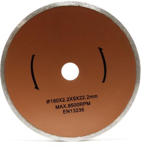 Disco corte repuesto cortadora azulejos eléctrica Ø180mm Recambio Repuesto Gres Losetas Cerámica