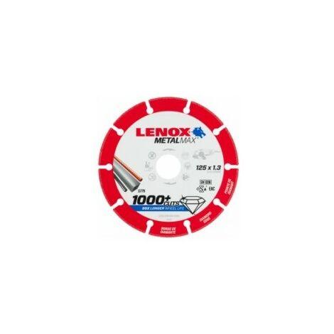 Disco Corte Segmentado 125X1,3X22,23Mm Diam Metalmax Lenox
