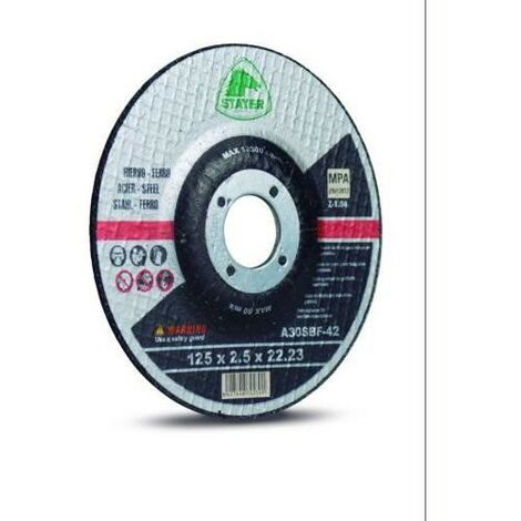 DISCO CORTE STANDARD HIERRO 125X3. 0X22. 2MM 50341