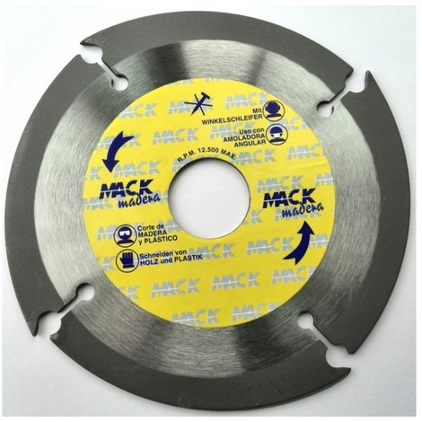 Disco corte tronzador mad 115 mm macodiam
