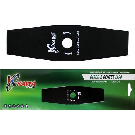 Disco cuchilla de 2 puntas 305X3.0 para desbrozadora.