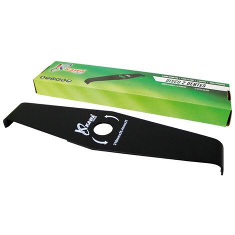 Disco cuchilla de 2 puntas 310X3.0 para desbrozadora.