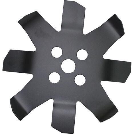 Disco Cuchilla De Widia 8 Puntas MULTI-CORTE 250*25.4*3.0MM Para Desbrozadora - Kawapower