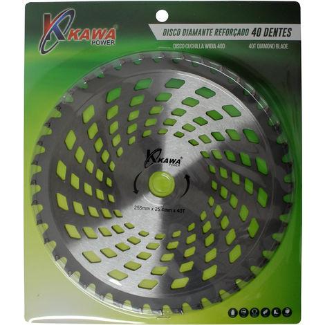 Disco Cuchilla De Widia Con 40 Puntas Para Desbrozadora - Kawapower