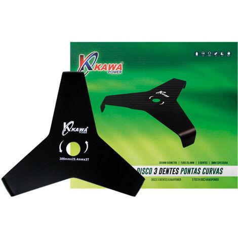Disco cuchilla Kawapower 3 puntas PRO para desbrozadora.