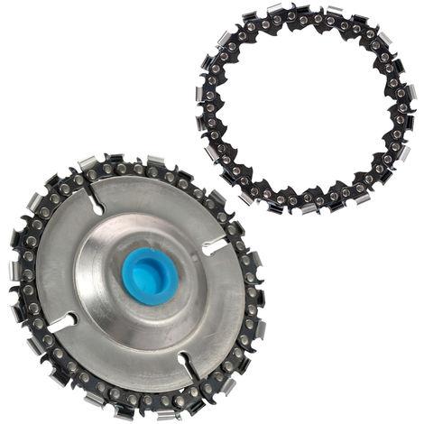 """Disco de amoladora Disco de talla de madera para cadenas, para amoladoras angulares de 4 """"o 4-1 / 2"""""""
