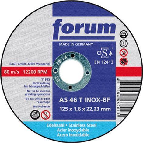 Disco de corte 180 x 1,6 mm de 8500 tr/mn