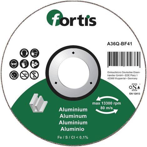 Disco de corte ALU-NE 115 x 10mm curva FORTIS