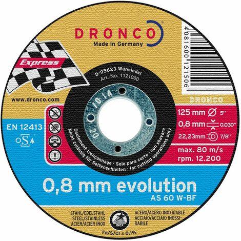 Disco de corte AS 60 W INOX Evolution - P4-01-003-V02