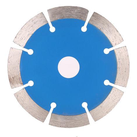 Disco de corte de diamante, con orificios de refrigeracion, 114*1.8*20Mmm, Bleu