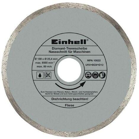 Disco de corte diamante 180x25,4mm RT-TC 430 U, TC-TC 618 U Einhell