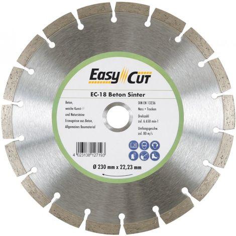 Disco de corte diamanteado EC-18 180x2, 2x10x 22.23 mm CEDIMA