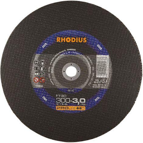 Disco de corte FT30 300 x 3,0mm Rhodius(por 25)