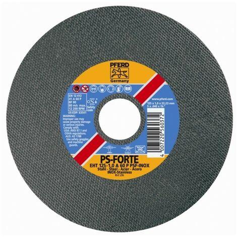 Disco de corte inox/metal eht pferd - varias tallas disponibles