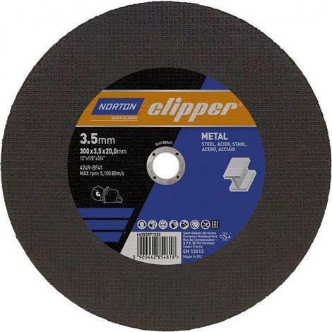 Disco de corte Metal A24R-300x35x20mm