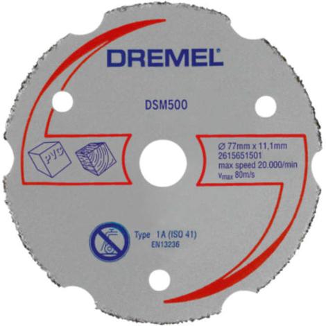 Disco de corte multiusos para DSM20 (dsm500) Dremel