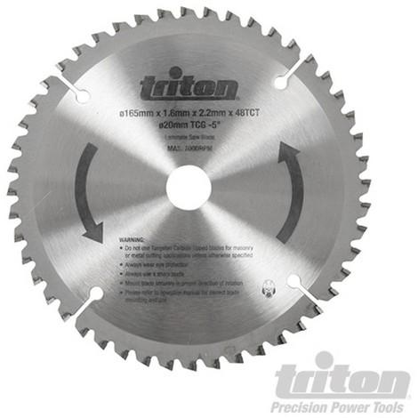 Disco de corte para sierra de incisión. 48 dientes (TTS48TCG Disco de corte. 48 dientes)