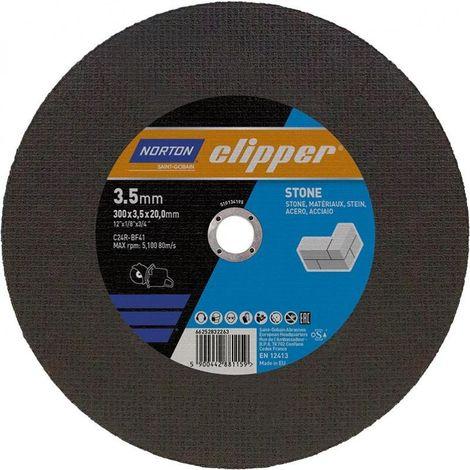 Disco de corte piedra C24R-300x35x20mm