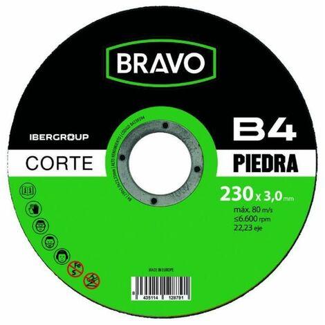 Disco de corte piedra ÿ 115x3,0 mm Bravo