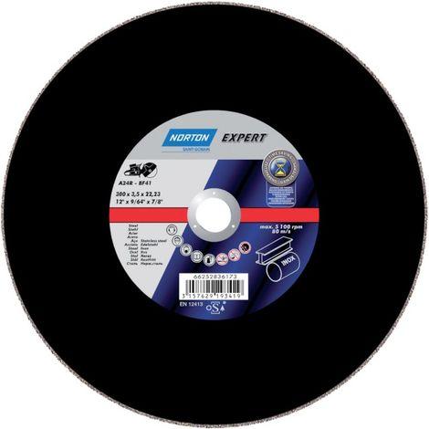 Disco de corte Stahl-Inox A24R-300x3,5x20mm