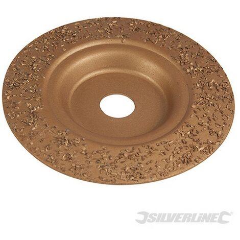 Disco de desbaste de carburo de tungsteno (115 x 22.2 mm)