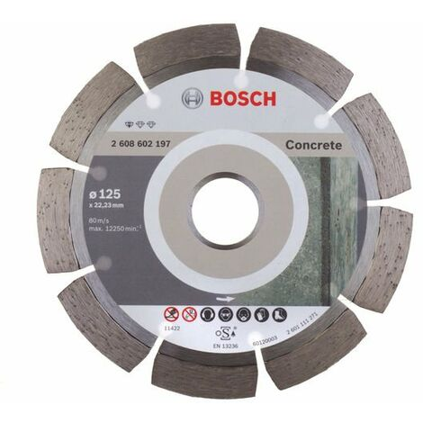 Disco de diamante 125mm Bosch Standard for Concrete