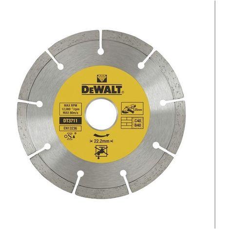 Disco de diamante corte en obra general - DEWALT