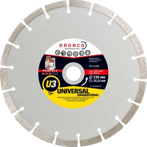 Disco de diamante Perfect U3 - Universal obra (Antes ST) - dronco_u3
