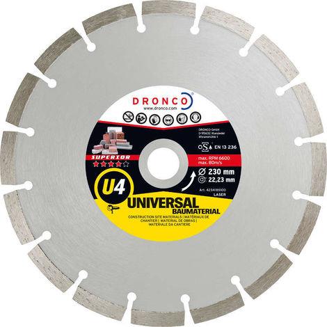 Disco de diamante Superior U4 - Universal obra (Antes LT46) - dronco_u4