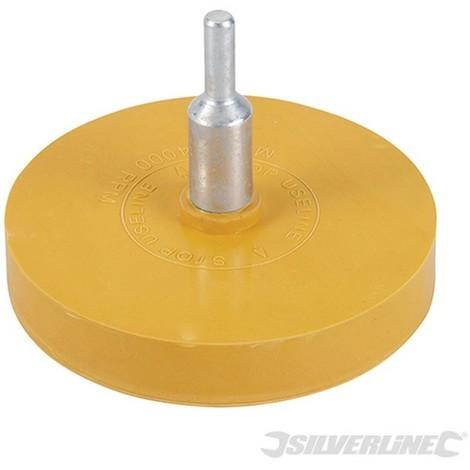 Disco de goma quita-adhesivos (85 mm)