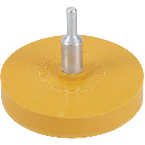 Disco de goma quita-adhesivos 85 mm - NEOFERR