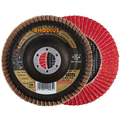 Disco de láminas LSK FK125mm K 40 Rhodius